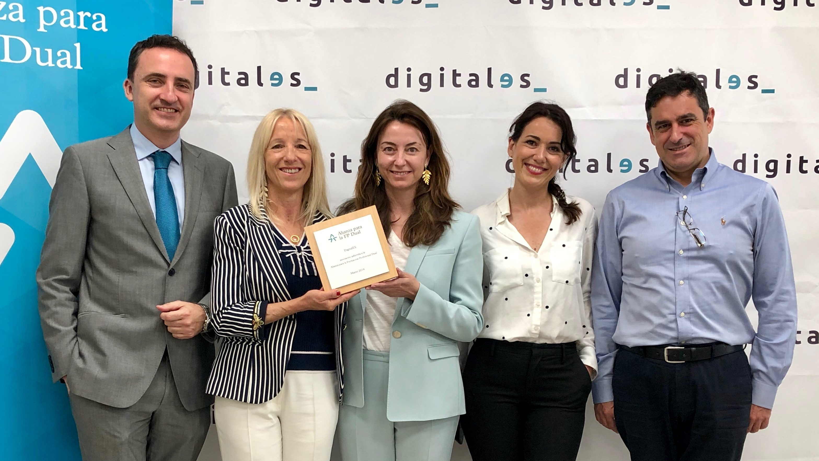 DigitalES joins the Alliance for Dual Vocational Training
