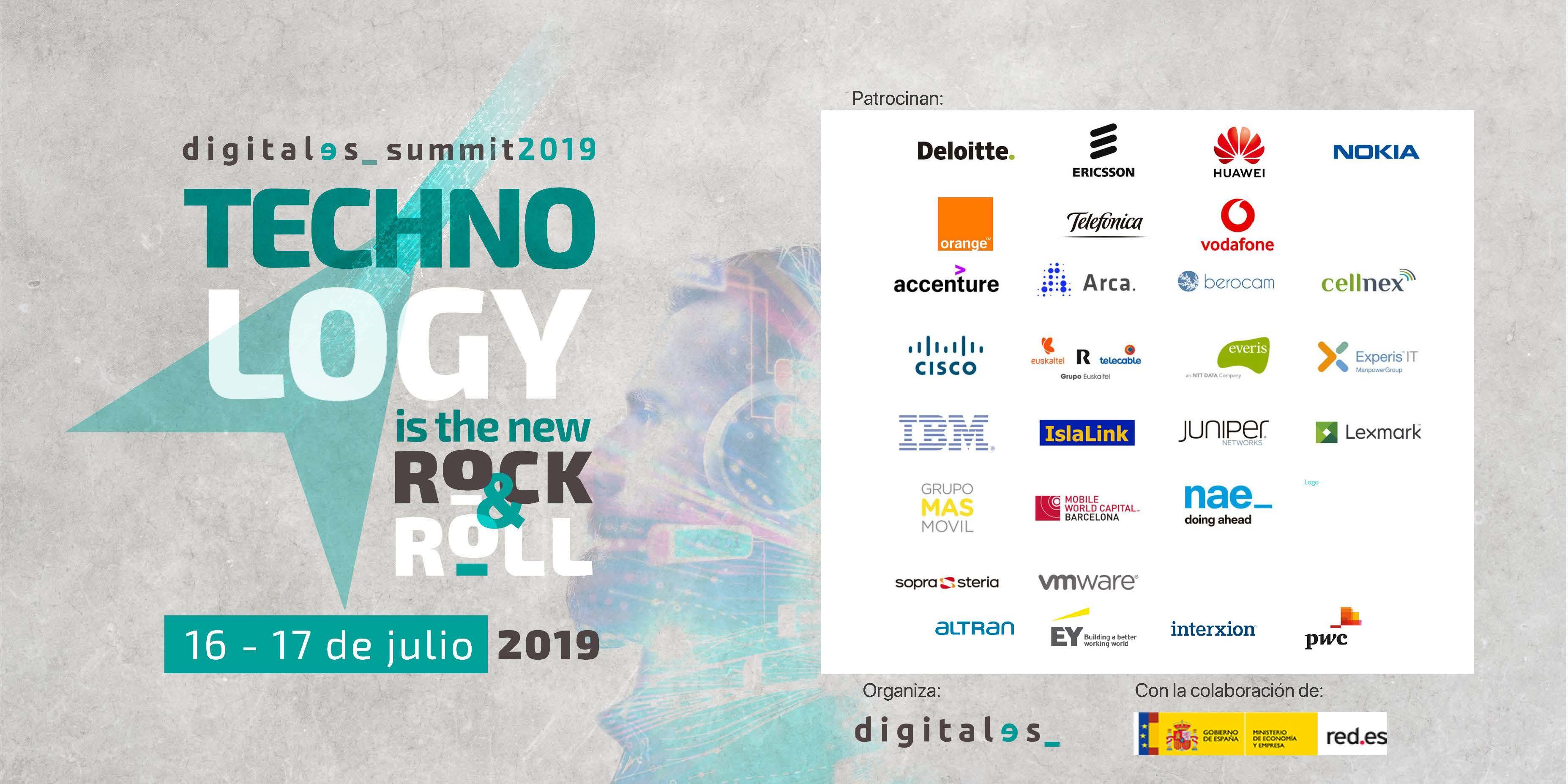 Patrocinadores DigitalES 2019