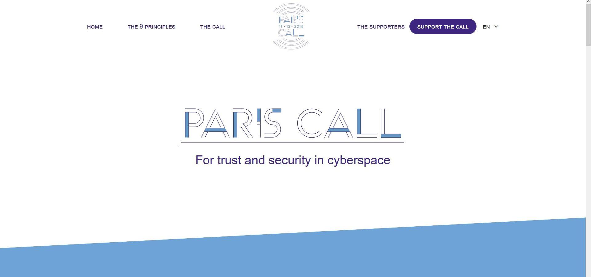 DigitalES se une al acuerdo Paris Call por la confianza y la seguridad en el ciberespacio
