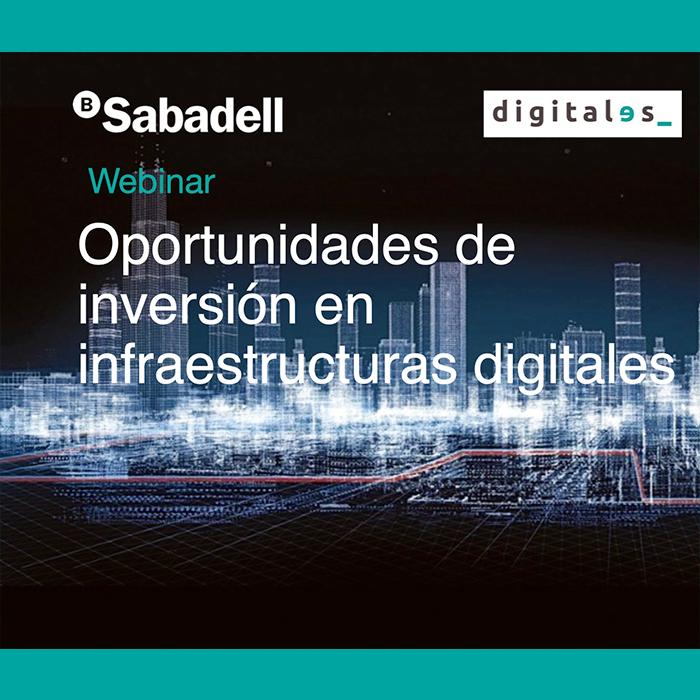 Webinar Inversión Infraestructuras digitales