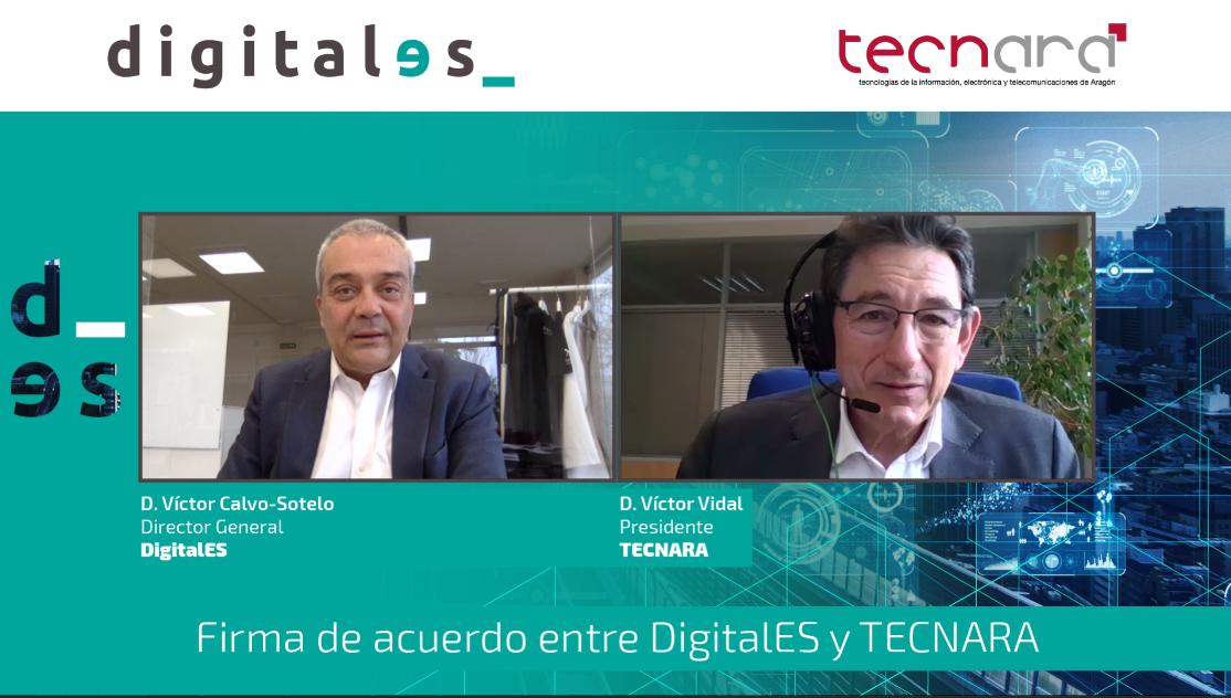 Firma convenio Tecnara Digitales