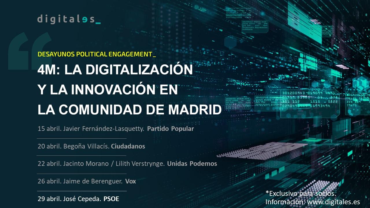 elecciones 4M patronal DigitalES digitalización innovación